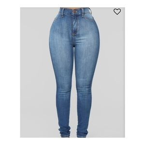 Luxe High Waist Skinny Jeans